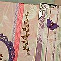 Un carnet en Promenade <b>Bucolique</b> et Kit Grigri Papillon - LoloCreaScrap