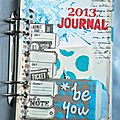 Au quotidien en 2013 - everyday journal 2013