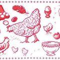 La poule a