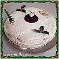 Layer milk cake