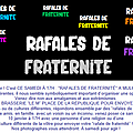 Invitation - rafales de fraternité...