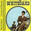 L'héritage des whiteoak, les jalna tome 5, mazo de la roche