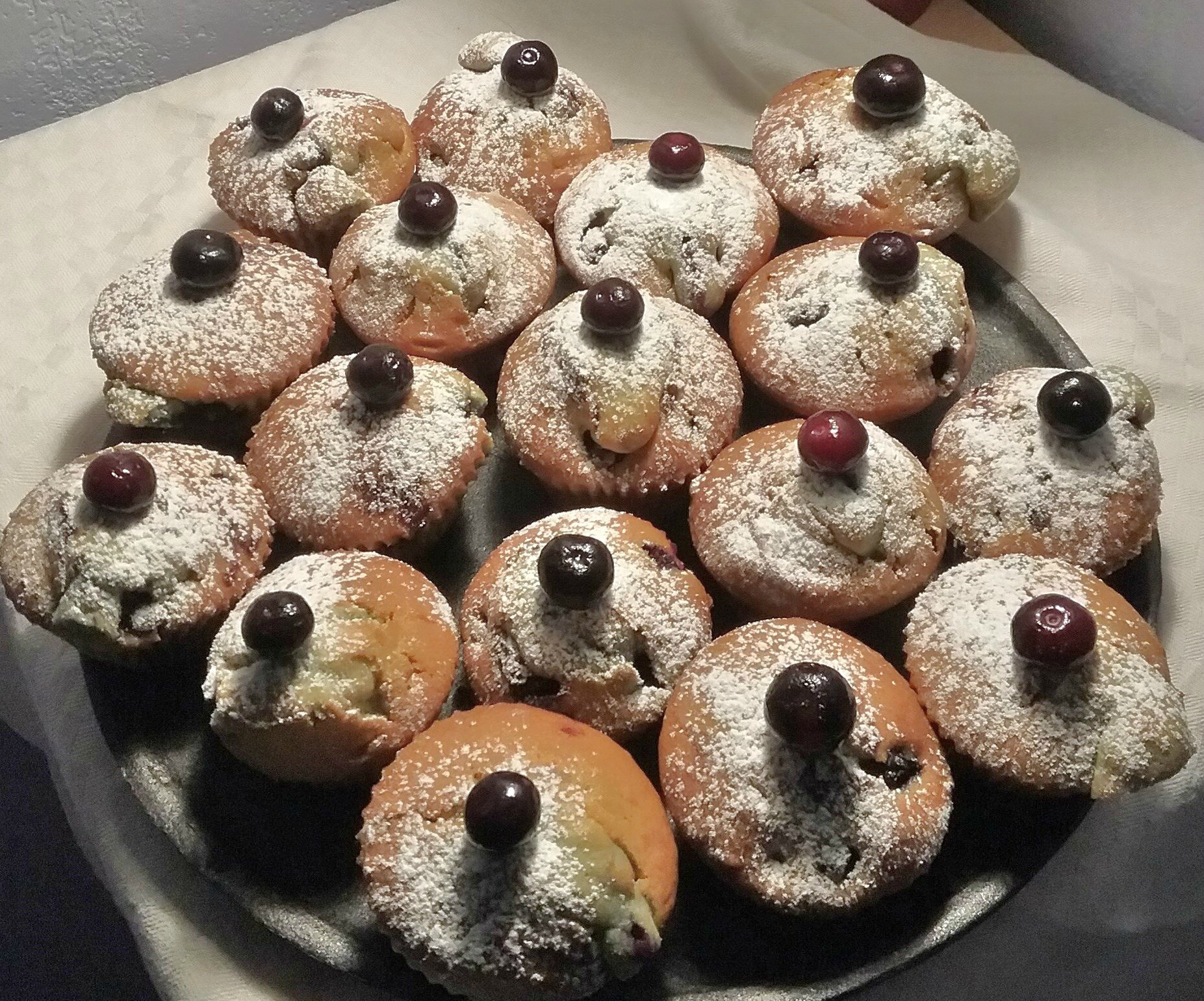 Muffins aux myrtilles - Blueberry muffins
