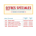 Offres speciales stampin up