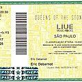 Queens of the Stone Age - Jeudi 25 Septembre 2014 - Espaço das Americas (São Paulo)