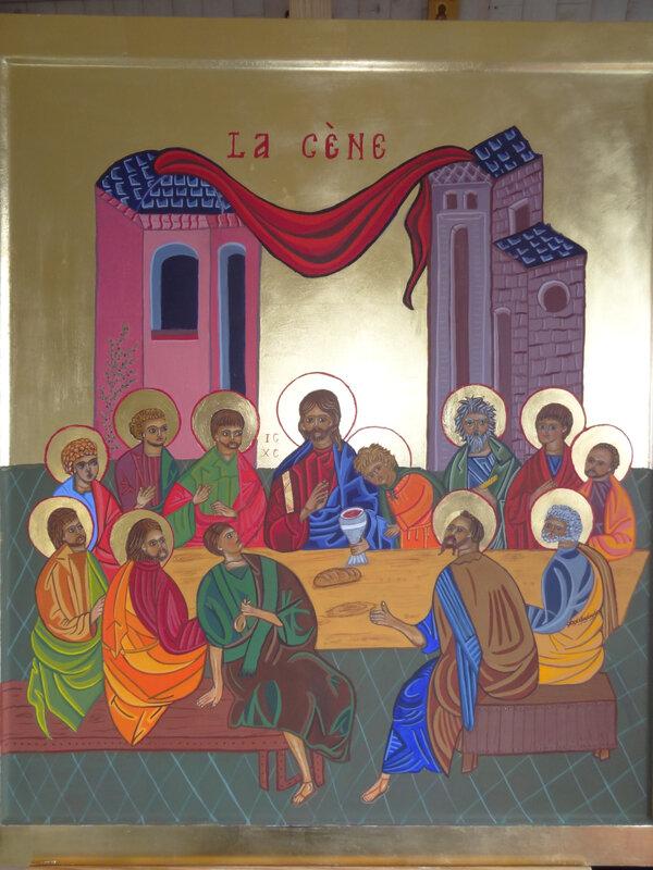 la Cène, dernier repas du Christ