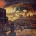 L'incendie de <b>Troie</b>