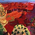 david-hockney-9-canvas-study-of-the-grand-canyon-1998-huile-sur-9-toiles-centre-pompidou-c-david-hockney
