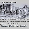 L' histoire du Marais-Poitevin, les premiers dessèchement du Bas Poitou. (Moyen-Age)