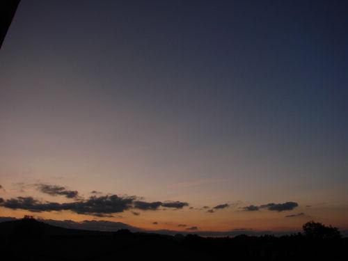 2008 09 15 Aprés le coucher de soleil
