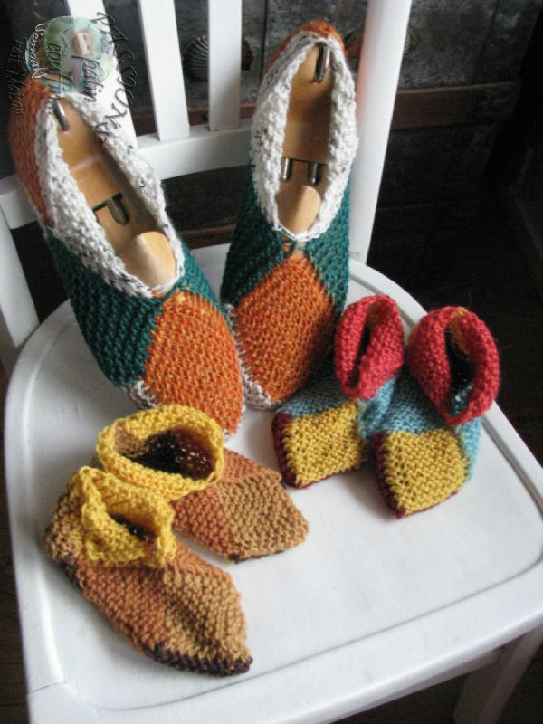 chaussons adulte