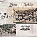 Rubrique ''D'hier à aujourd'hui'' dans Le Mag ER : <b>Pont</b>-de-<b>Roide</b> (25)