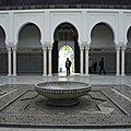 Visite de la mosquée de paris