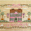 <b>Our</b> <b>Love</b> Nest - Country Cottage Needleworks