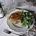 Tourte poulet-salsifi-champignon