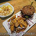Mini-burgers de <b>sanglier</b> et potatoes maison