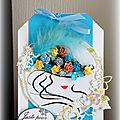 Tableau n°4 pour une tête châpeautée de fleurs