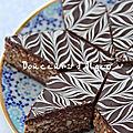 Gâteaux marbrés aux cacahuètes et chocolat