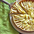 Tarte sablée aux pommes pour la ronde