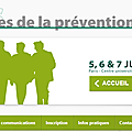 Journés de la <b>prévention</b> 2013 - INPES