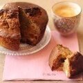 Gâteau au céleri et aux abricots, parfumé au thym