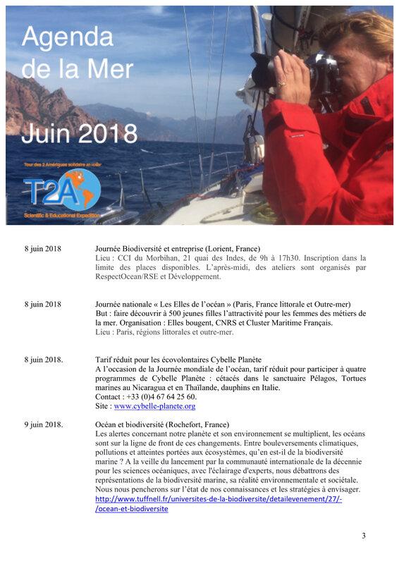 Agenda de la mer juin 2018 page 3:8