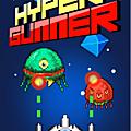 Hyper Gunner, un jeu <b>mobile</b> qui plait aux fans des shoot'em up !