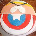Thème tordu: Captain America et <b>Cartman</b> (South Park)