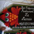 Nouvelles pancartes pour le bar crêperie restaurant le marais