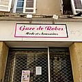 Gare de Robes Condom Gers <b>mode</b> et accessoires