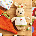 <b>Sweet</b> <b>Dreams</b> - Rabbit in a carrot bed - Val Pierce
