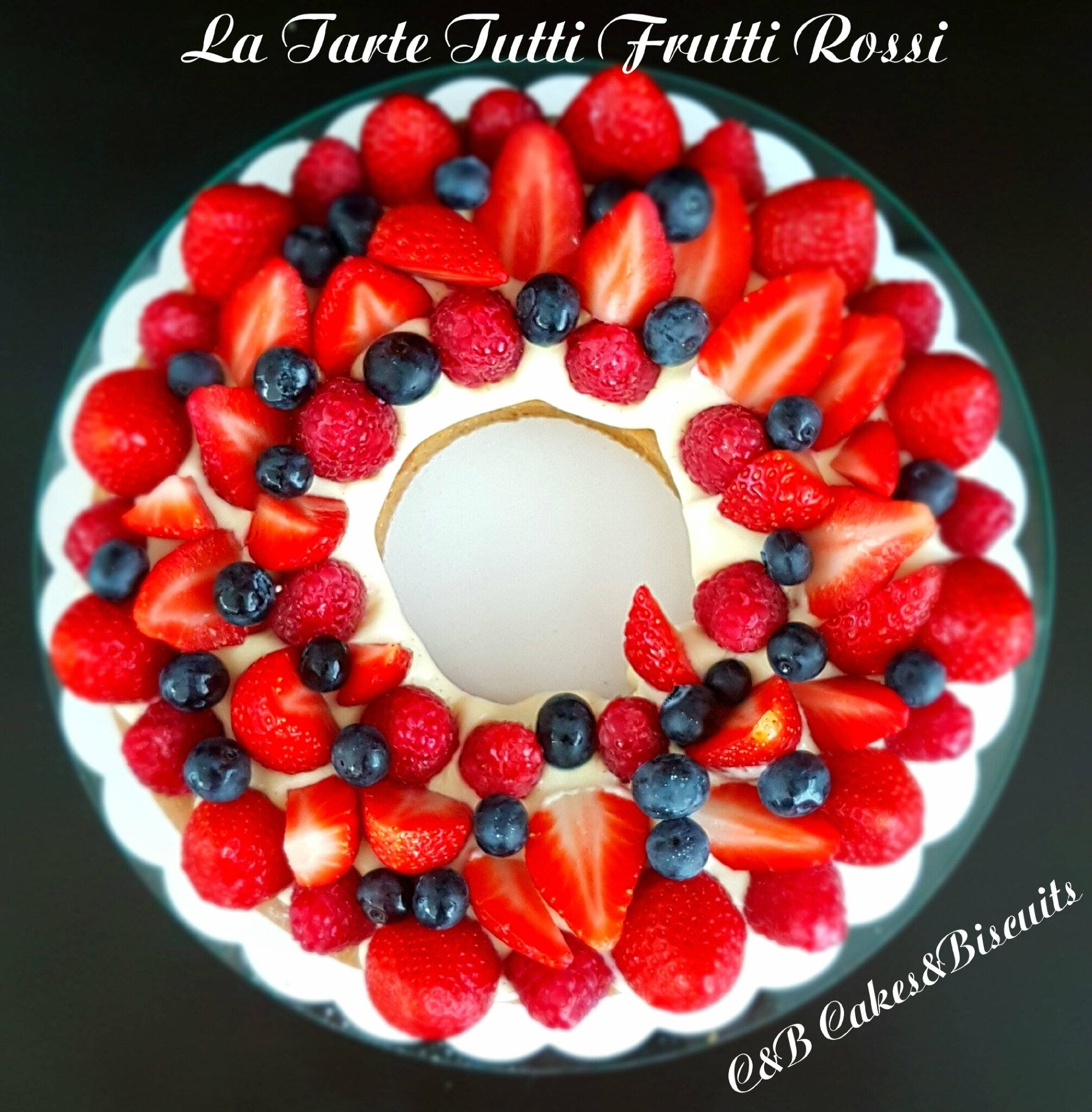 La Tarte Tutti Frutti Rossi