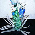 Oeuvre collégien Joseph d'Arbaud Salon La récup c'est mon truc - création recyclage
