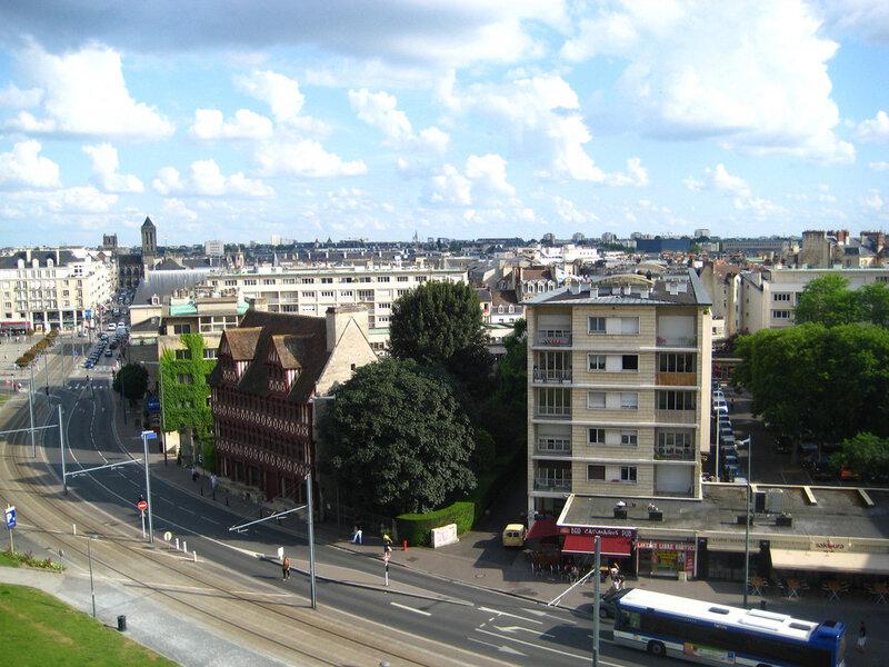 Revitalisation des centre- villes reconstruits après 1944: la Normandie et l'Etat financent.