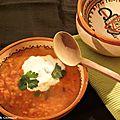 Soupe de lentilles, curry, lait de coco de yotam ottolenghi