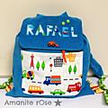 sac à dos maternelle garçon Rafaël