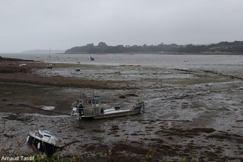 00623 Plomodiern - Le Pays de Plougastel - Le Port et la Pointe de Rostivec blog