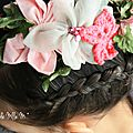 ▼▲ instant hair : dutch braid crown▼▲ tendance boho spring ☼