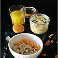 Porridge des rois, a la crème d'amandes