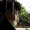 Bien arrivés dans notre Guest House sur l'île d'An Bihn.
