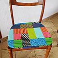 Couture : des housses de chaises pour noël