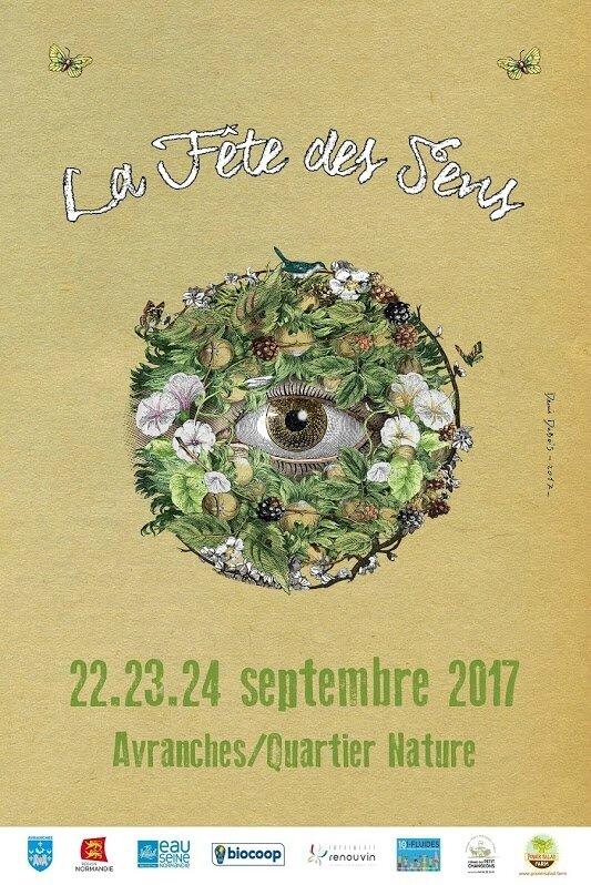 la Fête des sens #8 - Avranches : vendredi 22, samedi 23 et dimanche 23 septembre 2017