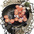 Tomates au thym frais cuites au barbecue
