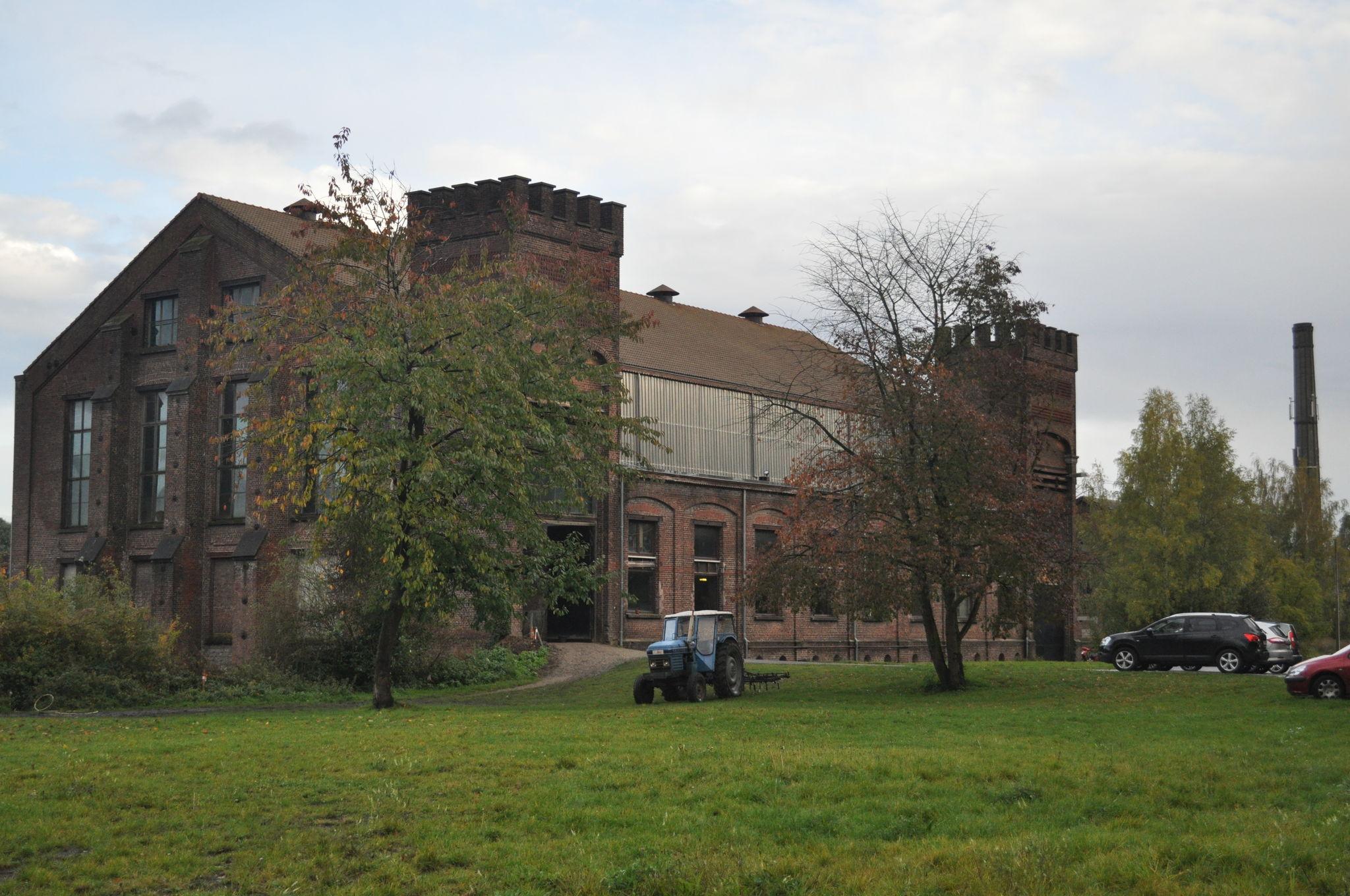 Site du Levant - Flénu - Salle des Compresseurs suite