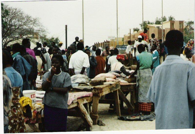 Marché aux Poissons de Soumbedioune-Dakar
