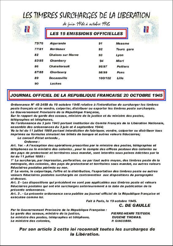 P 0075 SOMMAIRE LES 15 OFFICIELLES