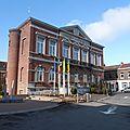Wasmes - Maison Communale façade 1