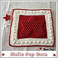 Tuto : etoile au crochet au point pop corn