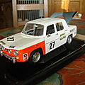MINIATURE RENAULT 8 COUPE GORDINI 1/18eme