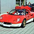 Lotus elise roadster (Alsace Auto Retro Bartenheim 2011) 01